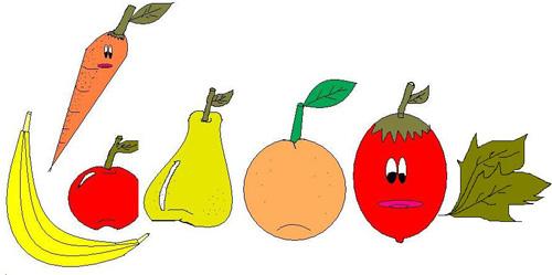 Il nostro blog spazio aperto mai in vacanza senza verdure for Clipart frutta