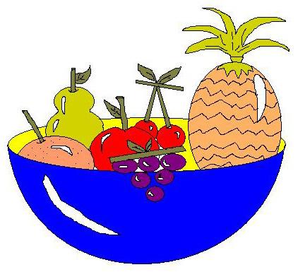 Clipart misto frutta 4you gratis for Clipart frutta