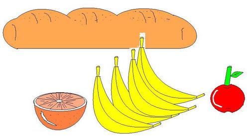 Clipart pane e frutta 4you gratis for Clipart frutta