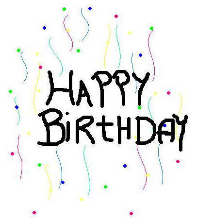 happy birthday pictures clip art. to do homework clipart. up