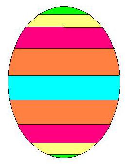 Clipart uovo di pasqua 3 4you gratis - Modello di uovo stampabile gratuito ...