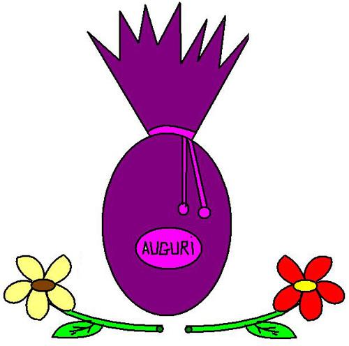 Clipart uovo di pasqua fiore 4you gratis - Modello di uovo stampabile gratuito ...
