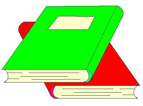 Clipart libri 4you gratis for Libri scuola