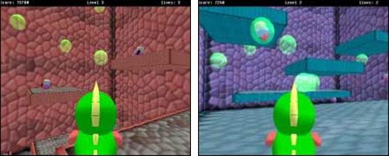 Screenshot 3D Bubble Bobble