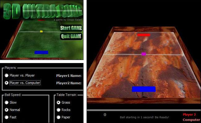 Screenshot 3D UltraPong