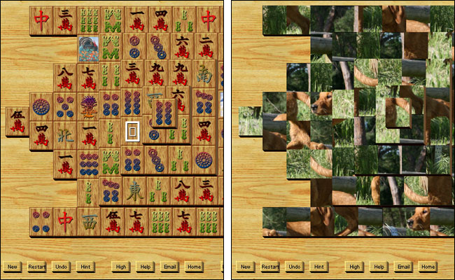 Screenshot AS-Mahjongg