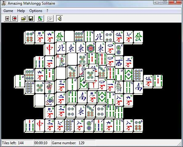 Screenshot Amazing MahJongg Solitaire