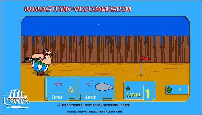 Asterix: Lancio del Romano