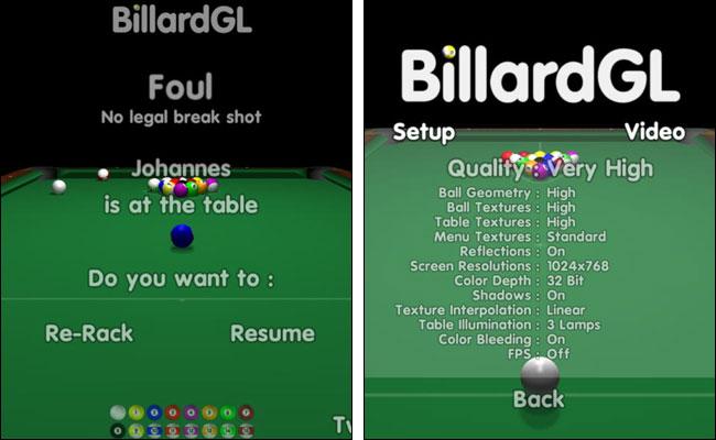 BilliardGL