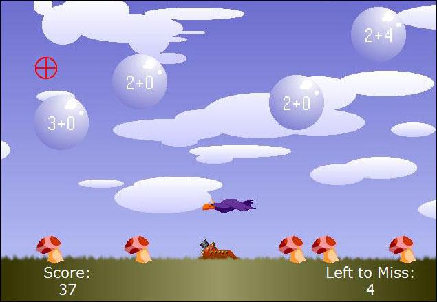 Screenshot Bubble-Sums