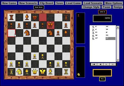 Screenshot Chess Blitz