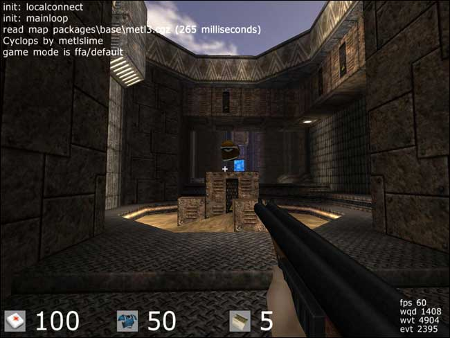 Screenshot Cube