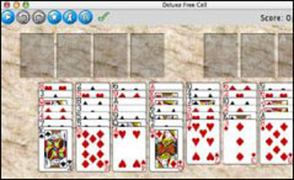 Deluxe Free Cell Solitaire