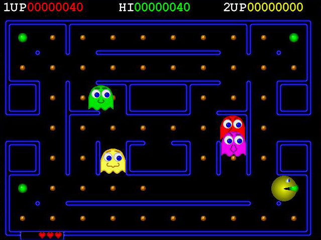 Screenshot Deluxe Pac Man