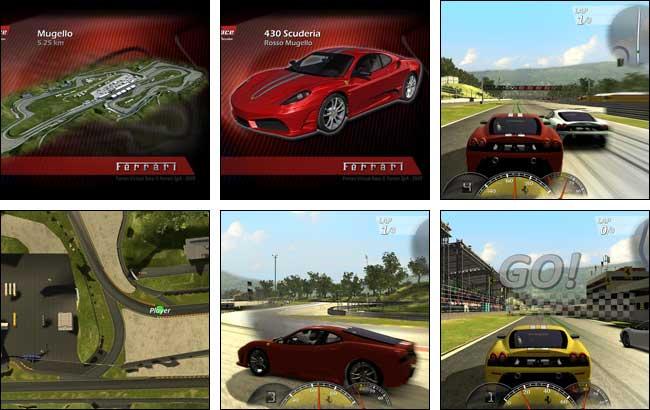 Screenshot Ferrari Virtual Race