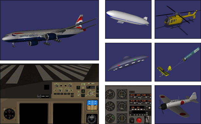 Screenshot Flight Gear