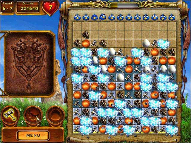 Screenshot Gallic Puzzle
