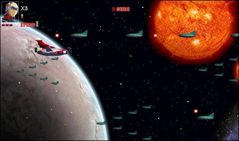لعبة مغامرات الفضاء الرهيبة جرندايزر