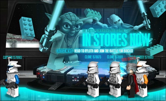LEGO Star Wars Demo