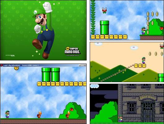 Screenshot Luigi's Big Adventure