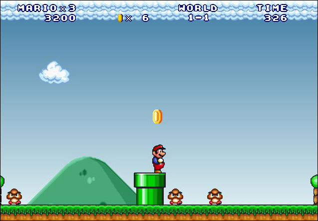Screenshot Mario Forever
