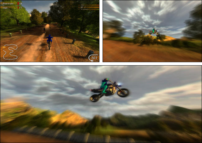 Screenshot MotoRacing
