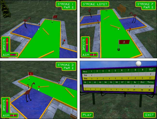 Screenshot Mr Putts Mini Golf