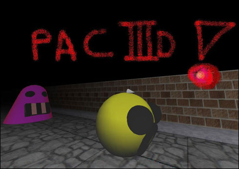 Screenshot Pac 3D