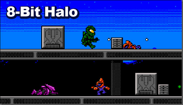 Pixel Force: Halo
