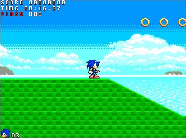 Screenshot Sonic Action