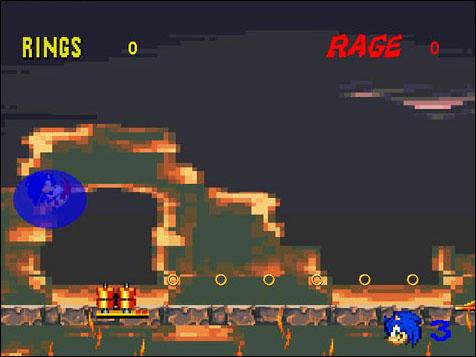 Screenshot Sonic Saga: The Crimson Emerald