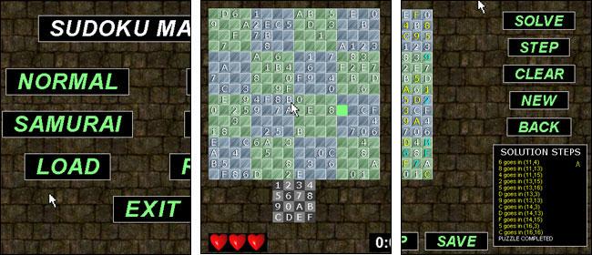 Screenshot Sudoku Master
