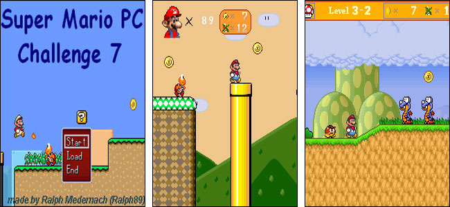 Screenshot Super Mario PC Challenge 7