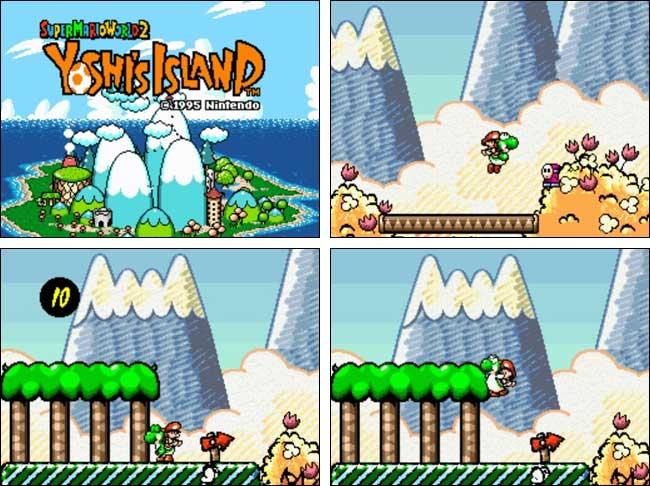 Super Mario World Yoshi's Island PC
