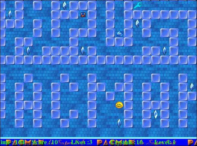 Supersoft Pacman