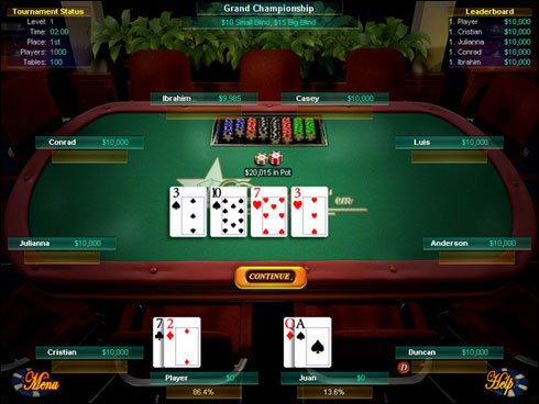 Texas Holdem Demo