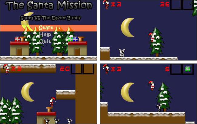 Screenshot The Santa Mission