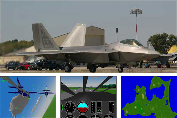 Screenshot YS Flight Simulation System