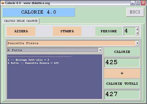 Calorie 4.0