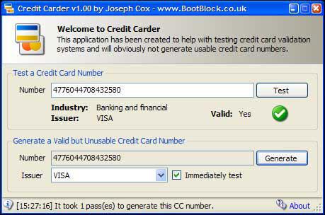 Credit Carder