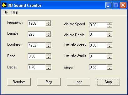 DB Sound Creator