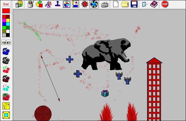 Screenshot Drawing for children