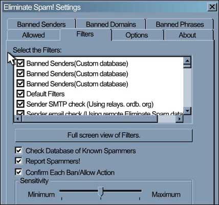 Eliminate Spam!