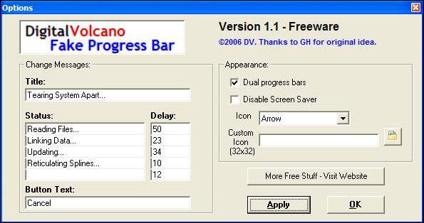 Fake Progress Bar