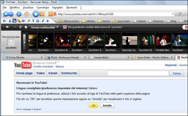 Flock - Social Network Browser