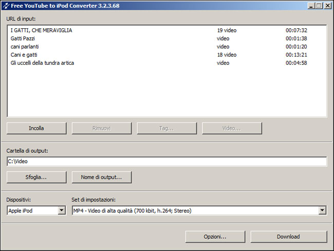 Free YouTube to iPod and PSP Converter