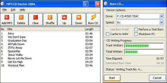 MP3 CD Doctor Lite