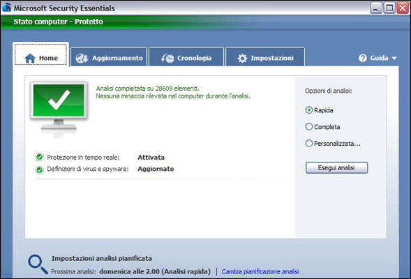 Microsoft Security Essentials