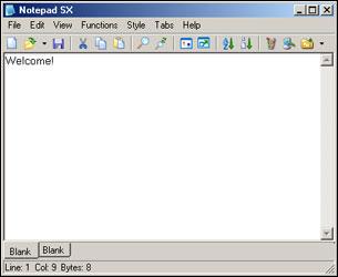 NotePad SX