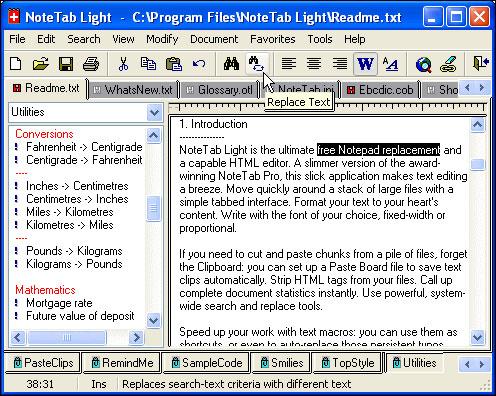 NoteTab Light